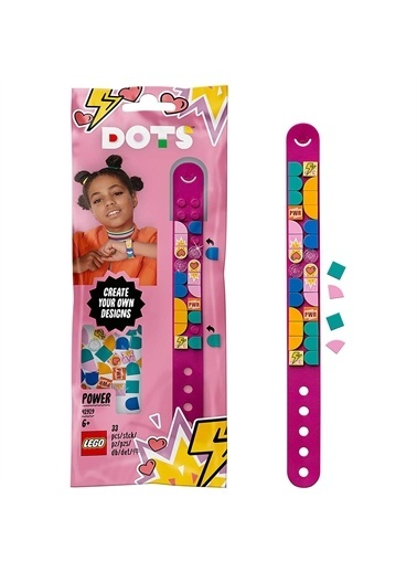Lego 41919 Lego® Dots Power Bileklik /33 Parça / +6 Yaş Renkli